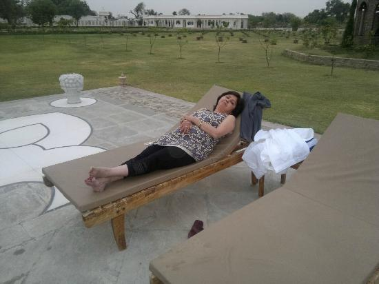 Talabgaon Castle Heritage Resort: Pool