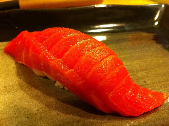 Sake Nigiri (wild Sockeye Salmon) - Picture of Sushi Bar ...