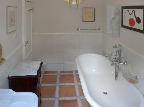Las-Tres-Terrazas: salle de bain chambre 1