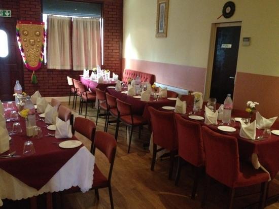 Anjanaas: banquet hall