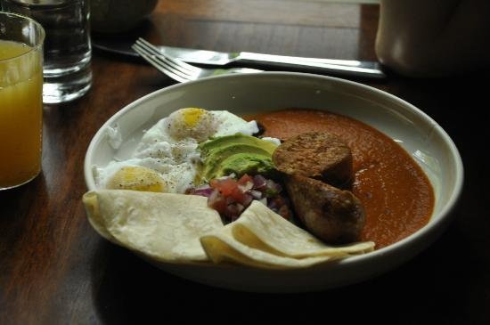 State Road Restaurant: Huevos Rancheros for Brunch