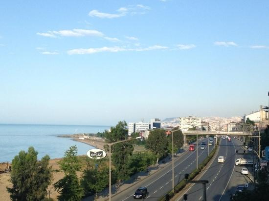 Akcaabat, Tyrkia: view from the 5th floor