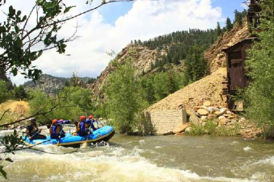 Idaho Springs, Колорадо: Whitewater Rafting Colorado