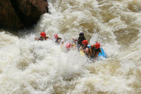 Idaho Springs, Колорадо: Rafting Colorado