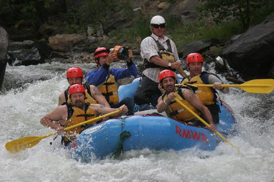 Idaho Springs, Κολοράντο: Colorado Whitewater Rafting with the captain of The Deadliest Catch