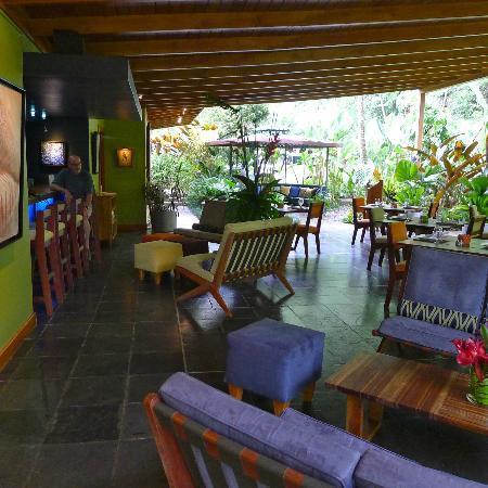Monte Azul's dining facility