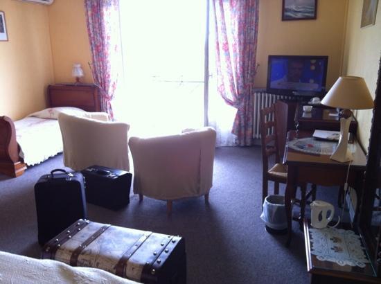 Hotel La Flanerie: chambre avec une vue exeptionelle sur la Garonne