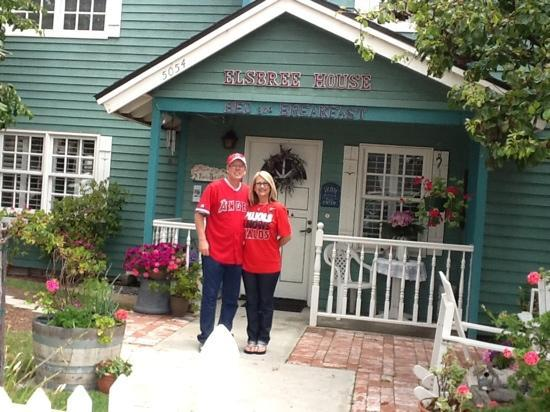 A Beach Bed and Breakfast and Vacation Condo at the Elsbree House: ready for the ball game!