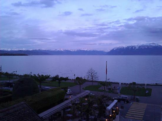 Romantik Hotel Mont-Blanc Au Lac: View from the Room