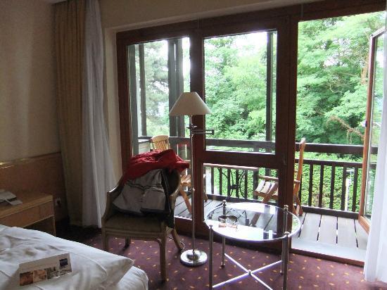 Dorint Hotel Venusberg Bonn: Our room with balcony