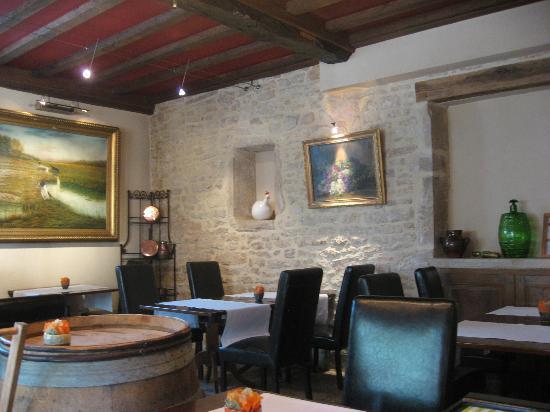 Relais & Chateaux - Hostellerie de Levernois : Breakfast room