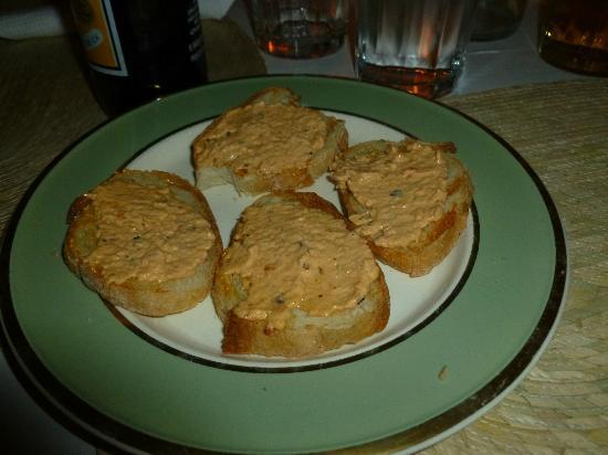 Boccadirosa : busquetas de pasta de camaron