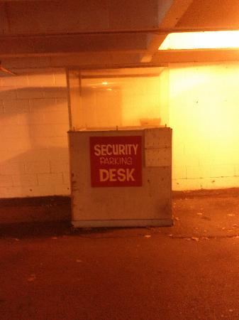 Super 8 Vancouver: In the Parkade. I felt really secure.