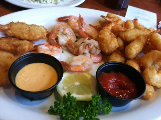 Kalispell, Μοντάνα: Shrimp platter