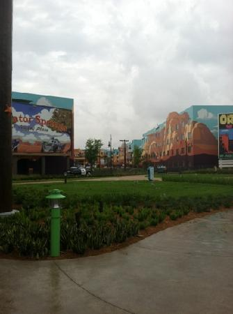 Disney's Art of Animation Resort: they were still working on the Cars section