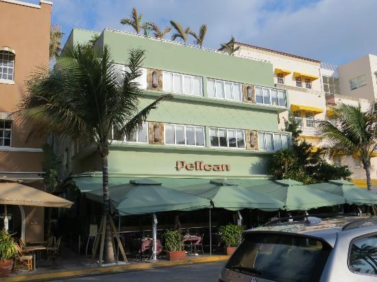 Pelican Hotel: Utanför
