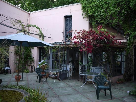 Posada de la Flor: The courtyard