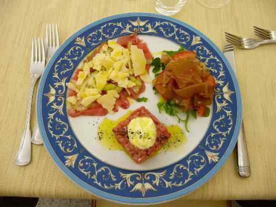 Ristorante La Conca: trionfo di carne cruda