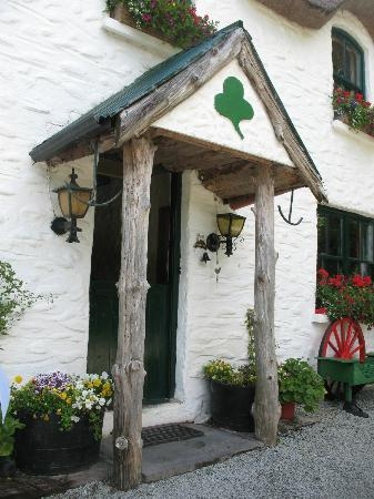 Lissyclearig Thatched Cottage: Front door
