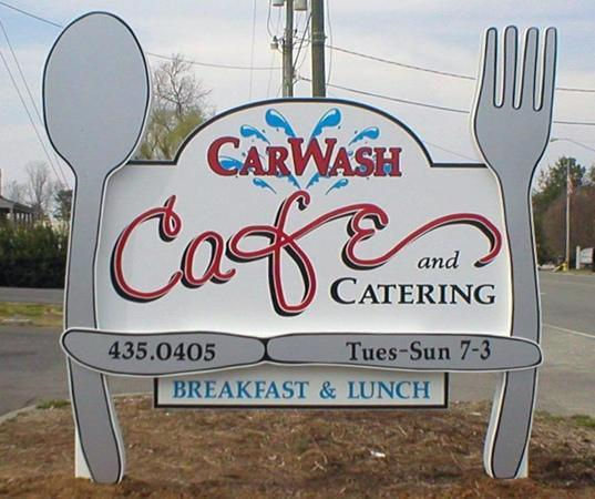 CarWash Cafe and Catering: 481 North Main Street, Kilmarnock, VA 22482