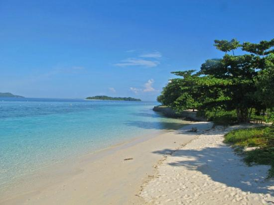 Gangga Island Resort & Spa: our beach