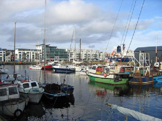 Clayton Hotel Galway: Galway Harbour