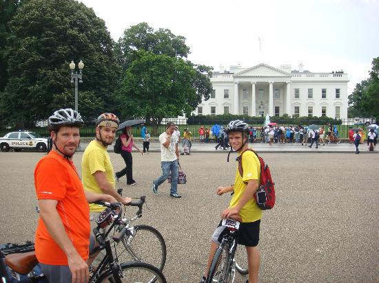 Bike the Big Capital: White House