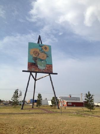 Goodland, Κάνσας: giant Van Gogh painting