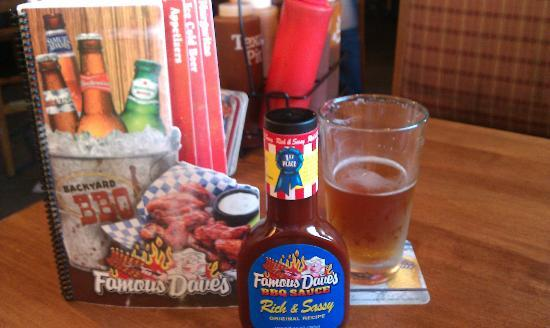Pinedale, CA: Bring home the Famous Dave's BBQ Sauce!