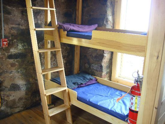 Lakes of the Clouds Hut: The bunks