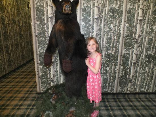Green Granite Inn & Conference Center: Ally and the bear :)