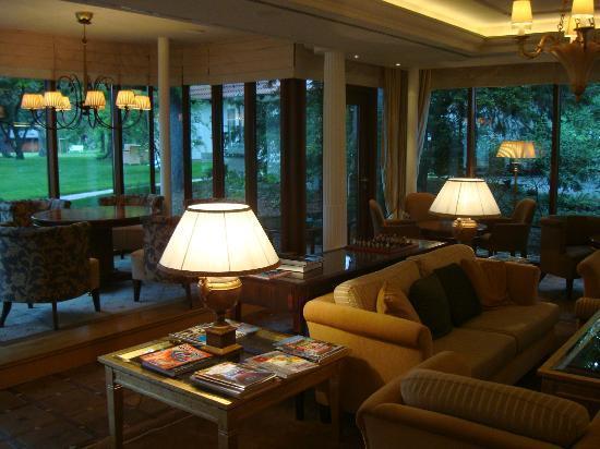 Wald & Schlosshotel Friedrichsruhe : Lounge