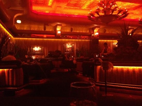 The Steak House: Main seating area