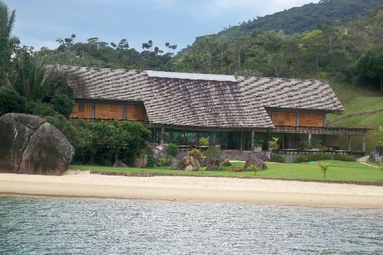Baía de Paraty: Casa onde foi filmado o filme Crepusculo