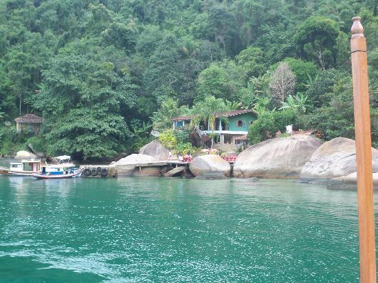 Paraty Bay: Trecho do passeio