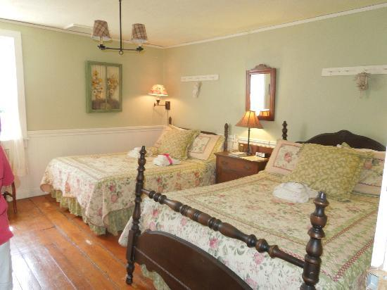 The Pines of Dresden Bed and Breakfast: Upstairs room at the Pines