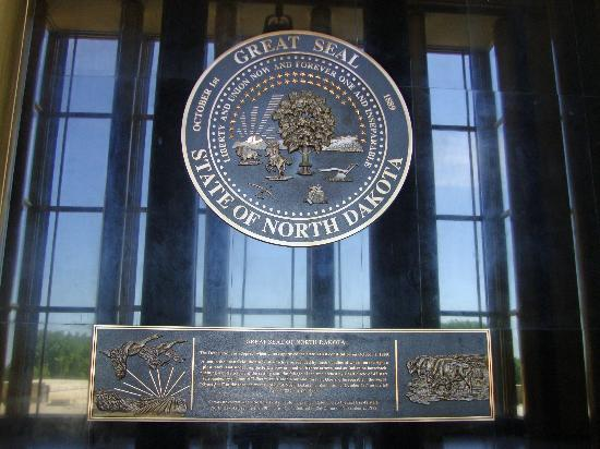 State Capitol Building : Seal of North Dakota