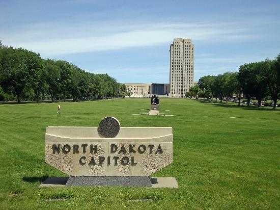 State Capitol Building: North Dakota Capitol Building
