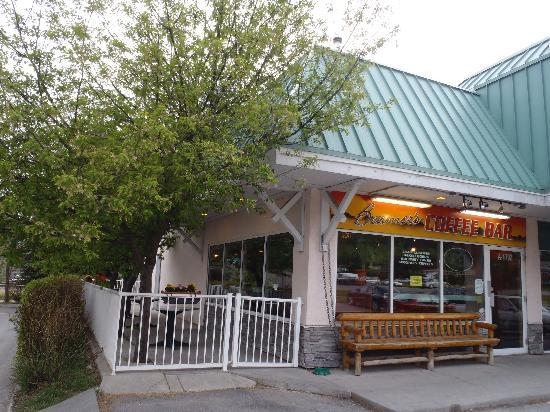 Beamer's coffee bar - Bow Valley Trail location
