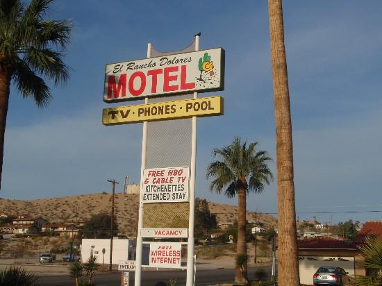 El Rancho Dolores Motel: twenty nine palms