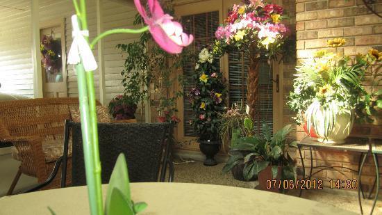 Julia's Cajun Country Bed & Breakfast: vor den Zimmern