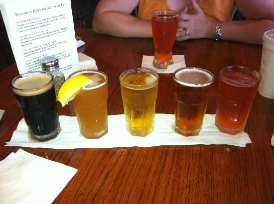 Padre Island Brewing Co. : The Beer Sampler - Nom!!