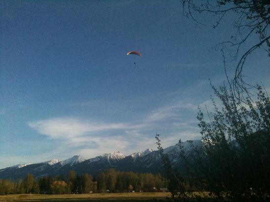 Golden Eco-Adventure Ranch: Paraglider
