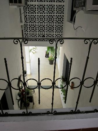 Hotel Maria Jose: corridor, view from the 2nd floor