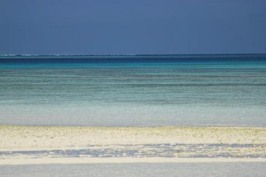 Kondoi Beach : グラデーションの海