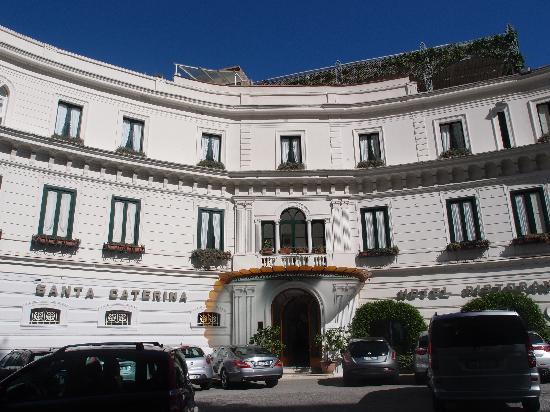 Santa Caterina Hotel: エントランス