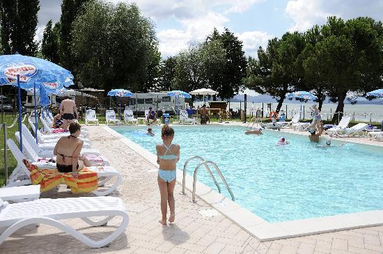 Camping La Spiaggia: La piscina