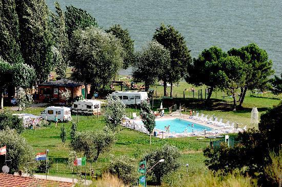 Camping La Spiaggia ***: Visti dall'alto