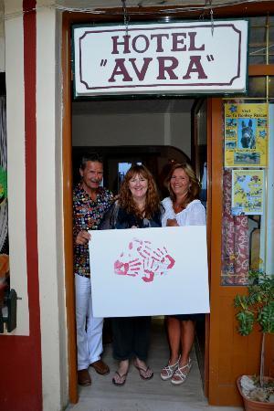 Hotel Avra: Propriètaire de l'hôtel