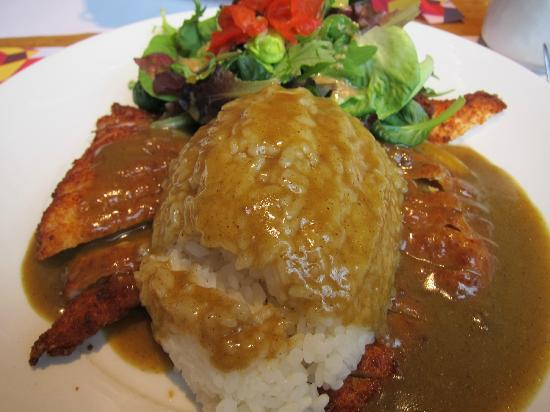 Wagamama: chicken reg katsu